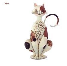Jim Shore H C Mini Spotted Cat Figurine Nib Enesco 3.5� H