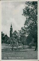 Ansichtskarte Celle Schloßpark Stadtkirche 1941 (Nr.938)