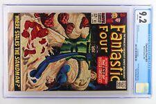 Fantastic Four #61 - Marvel 1967 CGC 9.2 Silver Surfer and Sandman Appearance. I