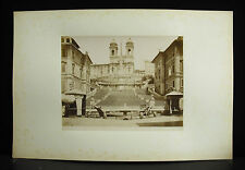 fotografia albuminé Eglise Cathédrale Italie Italia monument ? 1880 photographie