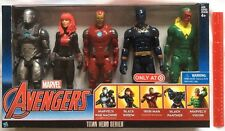 "Marvel Avengers Titan Hero Series Exclusive 5 Figure Set 12"" Black Widow + ~ NEW"