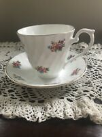 Vintage Royal  Sutherland Fine Bone China Cup And Saucer Made In England