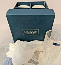MARQUIS by WATERFORD OMEGA HI BALL 1 SET OF 4