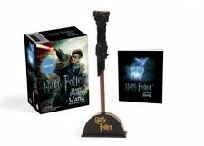 Harry Potter Wizard's Wand with Sticker Book: Lights Up! by Running Press (Mixed media product, 2016)