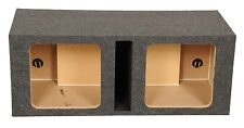 "Square Kicker Solobaric Dual 12"" Ported L3 L5 L7 Subwoofer Box Speaker Enclosure"