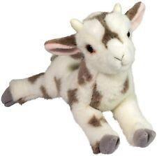 "Giselle DLUX Goat white brown spots Douglas 15.5"" stuffed animal plush cuddle"