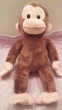"Curious George Applause by Russ Plush Stuffed Animal 16"" Monkey Chimpanzee"