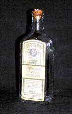 Vintage Watkins Vanilla Extract Empty Bottle, 11 oz, Trial Mark w/ Cork