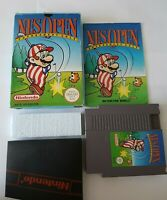 Nes Open Tournament Golf - Nintendo NES Game [PAL A UKV] - CIB