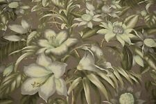 "Tommy Bahama Upholstery Drapery Fabric Print 54""W Urban Blossom Harvest Floral"