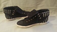 Boutique 9 Katreen Studded Sneakers Black Size 9.5