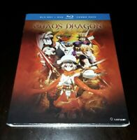 Chaos Dragon: The Complete Series (Blu-ray/DVD, 2016, 4-Disc Set) NEW Anime