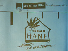 pro Clima Thermo Hanf DB Plus Hochleisungsdampfbremse 1 m2 - Meterware armiert
