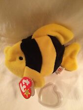 Rare 1995 Bubbles Ty Beanie Baby Error PVC No Star No Stamp Style 4078 Nurnberg