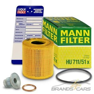 MANN ÖLFILTER+ÖLABLASS-SCHRAUBE FÜR MINI R56 R57 R55 R60 R58 R61 R59