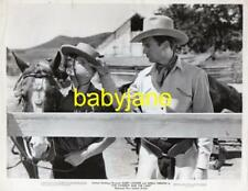 GARY COOPER FUZZY KNIGHT VINTAGE 8X10 PHOTO FUNNY 1938 COWBOY AND THE LADY