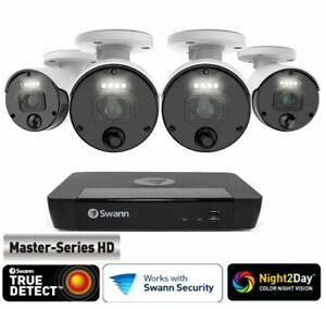 Swann Master-Series 4K HD 4 Camera 8 Channel NVR Security System
