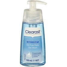 Clearasil Oil Free Daily Gel Wash 150ml  Helps Clear And Prevent Breakout