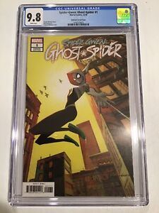 SPIDER-GWEN GHOST SPIDER 1 1:25 ANDREW ROBINSON INCENTIVE VARIANT NM CGC 9.8 🥵