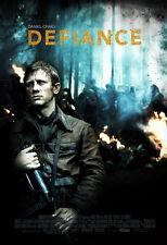 DEFIANCE Movie POSTER 27x40 B Daniel Craig Liev Schreiber Jamie Bell George