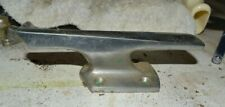 vintage boat bow cleat 6 inches classic wood glass fiberglass  - 1503