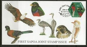 Malawi FDC  stamps  birds,
