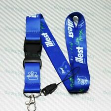 Car Neck Strap Lanyard Keyring Key Chain Cellphone for JDM Racing ILLEST Blue