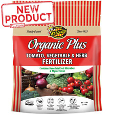 Organic Home Garden Fertilizer 3.5 Lb Tomato Vegetable & Herb Plant Roots Grow