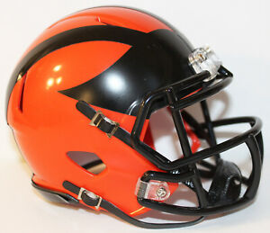 2019 Princeton Tigers Custom Riddell Mini Helmet vs Harvard