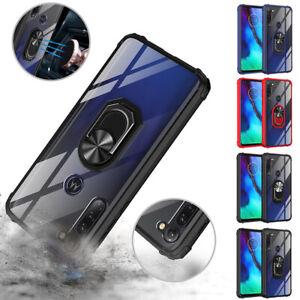 Armor Case For Motorola Moto G8 Power Lite G9 Play G Stylus 360 Ring Stand Cover