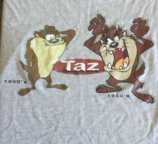 Warner Brothers Vintage Xl Taz T Shirt 1950's 1990's 1997 Looney Tunes