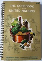 United Nations 250 Authentic Dishes Fundraiser Cookbook 1964 Used