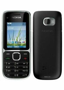 NOKIA C2-01 Black  - Unlocked Mobile Phone - 12 Months Warranty