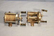 Vintage Pflueger Akron 1893L / Shakespeare 1905 Deuce Fishing Reels