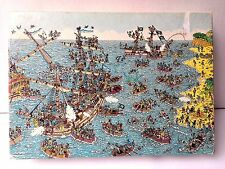 1991 Where's Waldo Jigsaw Puzzle Being A Pirate 100 Pieces