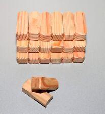 25 Holzkeile Holzkeil Kiefer//Fichte//Lärche//Erle 240x80x30mm Baukeile Spaltkeile