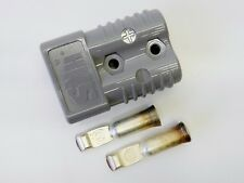 SB175 POWER CONNECTOR 175 Watt 1/0 AWG GRAY HOUSING W/ CONTACTS New *