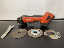 Hilti AG 125-A22 Brushless Cordless Angle Grinder with B22 5.2Ah Battery