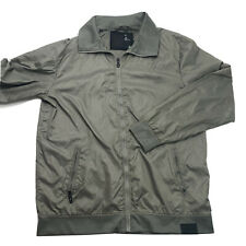 G Star Raw Sports Cafe Racer Jacket - Men's XL - Beige Gray Excellent Classic