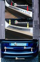 Moulure Garniture de Coffre Pare-Chocs + Rebord Acier Satinée Fiat 500X 15-19