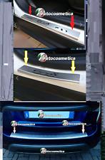 modanatura Battivaligia paraurto+Battitacco Acciaio satinato FIAT 500X 15-18