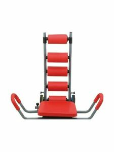 Ab Rocket Twister Deluxe Abdominal Trainer Red  Barely Used