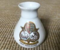 Vintage Crested China Town Arms Dover Ornament Collectable