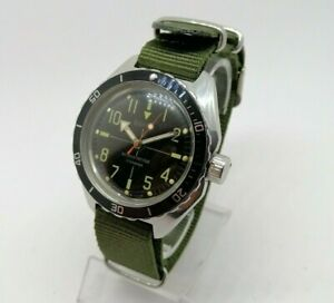 ☭ Watch Vostok Amfibian SNIPER 2409A SU Diver USSR Vintage Soviet SERVICED