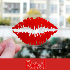 Red Lips Auto For Car/Bumper/Window Vinyl Decal Sticker Decals DIY Decor Hot