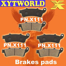 FRONT REAR Brake Pads for Honda ST 1100 Pan European - ABS Model 1996-2002