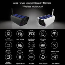 1080P HD 2.0MP Wireless Solar Waterproof Security WIFI IP Camera Surveillance
