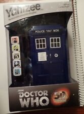 Brand New Sealed Bbc- Doctor Who- Yahtzee 50th Anniversary Collector's Edition-