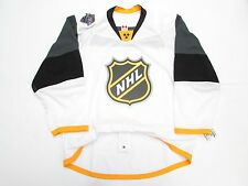 2016 NHL ALL STAR GAME TEAM ISSUED WHITE REEBOK EDGE 2.0 7287 JERSEY SIZE 54