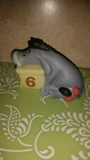 "Disney Eeyore figurine number 6 ""Six is for Joy in all you do"""